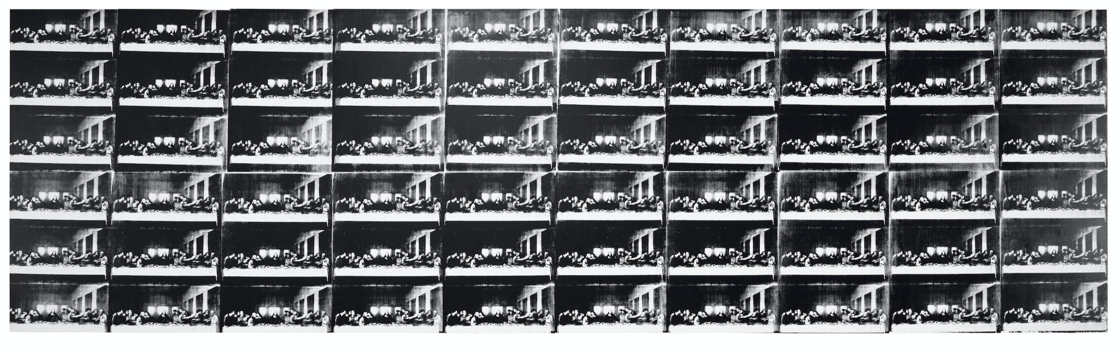 Andy Warhol Sixty Last Supper, Museo del Novecento, Milano