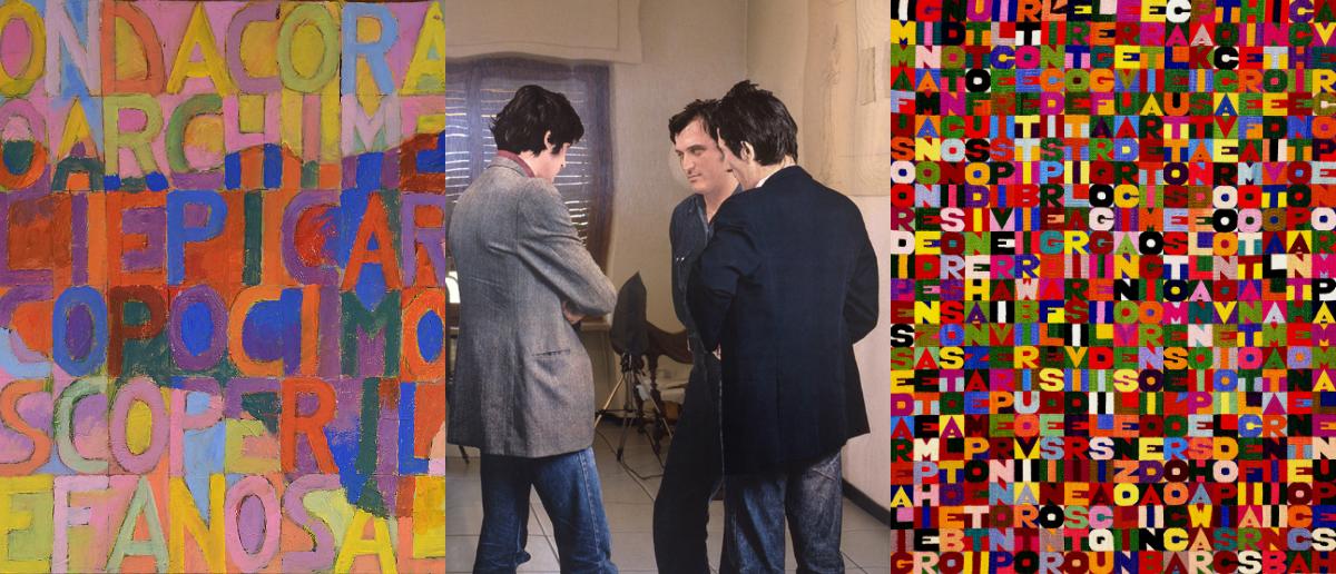 Alighiero Boetti, Salvo, Lac Lugano, Michelangelo Pistoletto, Torino, Arte Povera, Collezione Olgiati, Spazio -1, MASI Lugano,