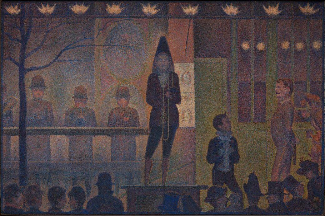 Seurat, Circus Sideshow, Met, Metmuseum, Met Museum, New York City, NYC