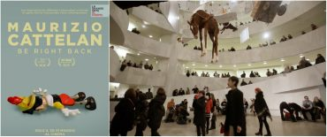 Cattelan, Cinema, Be Right Back, Arte, Guggenheim, Maura Axelrod