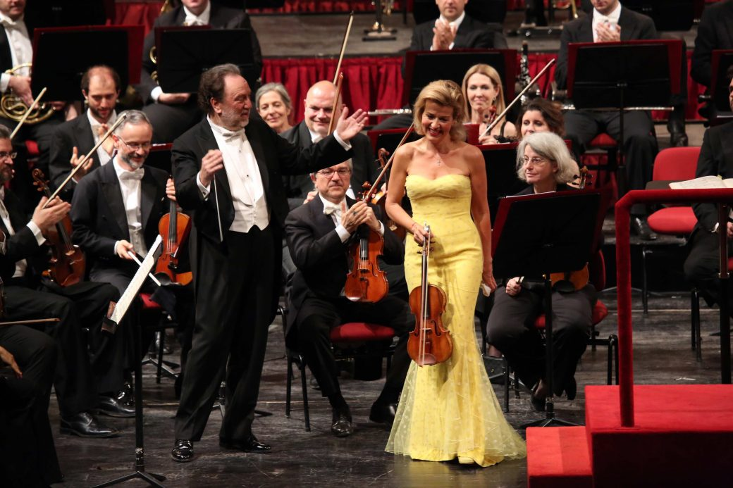 Teatro alla Scala, Milano, Riccardo Chailly, Anne-Sophie Mutter, Johannes Brahms