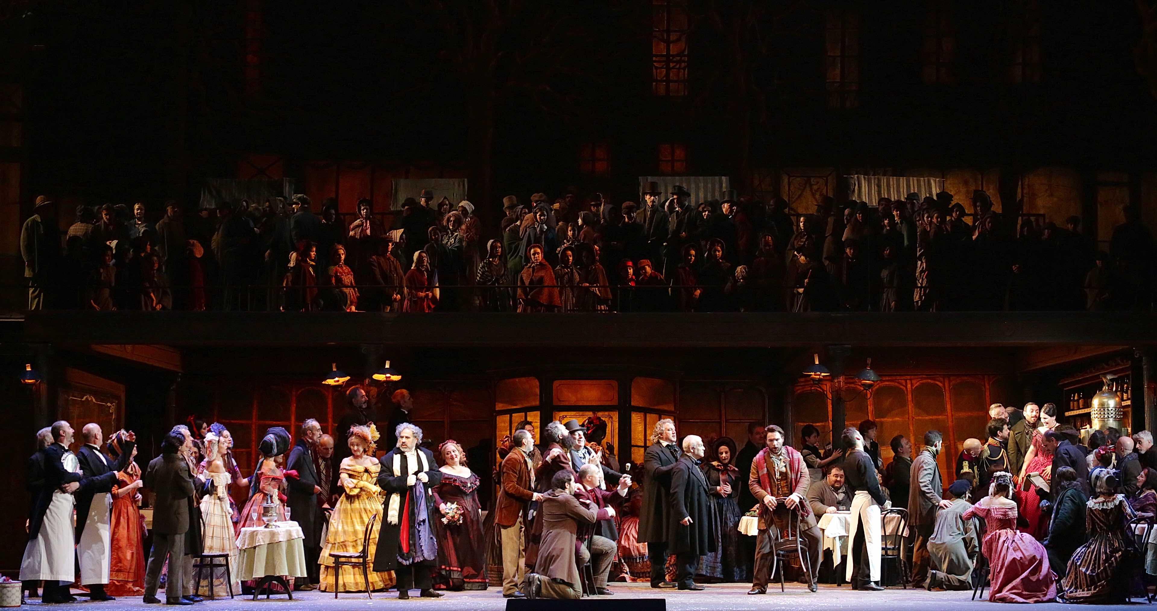 Teatro alla Scala, La Bohème, Franco Zeffirelli, Giacomo Puccini, Milano, Opera, Federica Lombardi, Sonja Yoncheva