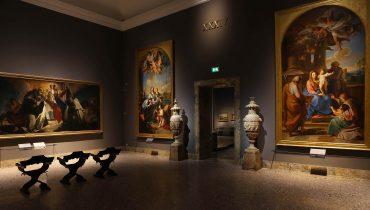 Brera, Pinacoteca di Brera, Pompeo Batoni, Settecento, Quinto dialogo, Milano, MiBact