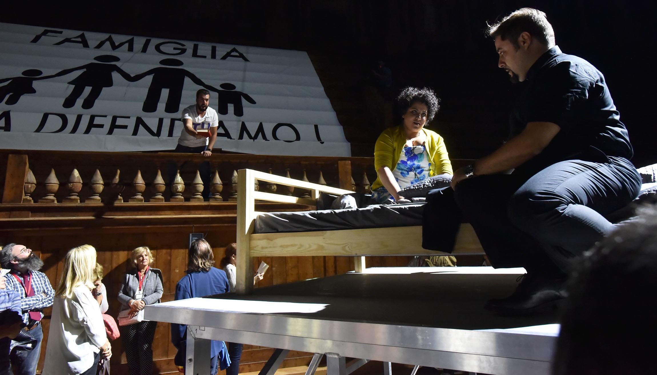Stiffelio, Giuseppe Verdi, Parma, Festival Verdi, Graham Vick, Roberto Ricci, Luciano Ganci, Maria Katzarava, Emanuele Cordaro,