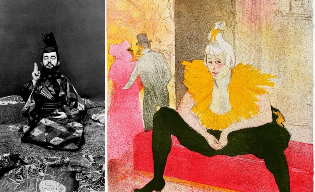 Toulouse-Lautrec, Palazzo Reale, Milano, Mostra, ToulouseLautrecMilano, Italia, Electa, Elles, La clownesse assise, Mademoiselle Cha-U-Kao, Musée Toulouse-Lautrec, Albi, Lautrec