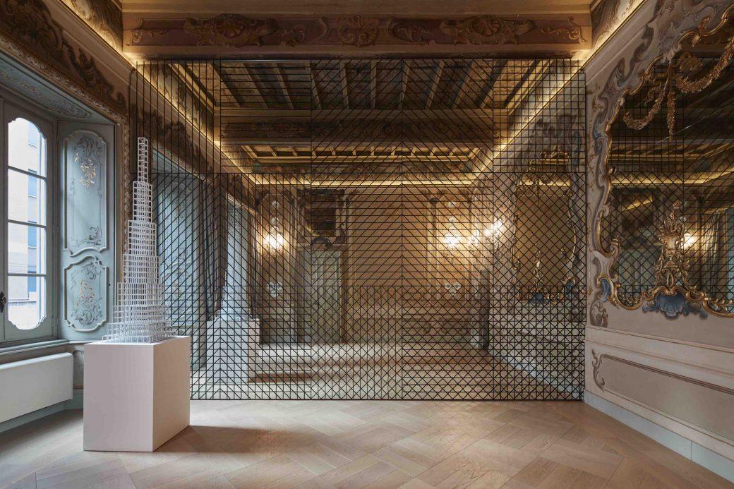 Sol LeWitt, Fondazione Carriero, Milano, Italia, Mostra, Between the Lines, Sol LeWitt Between the Lines, Rem Koolhaas, Francesco Stocchi