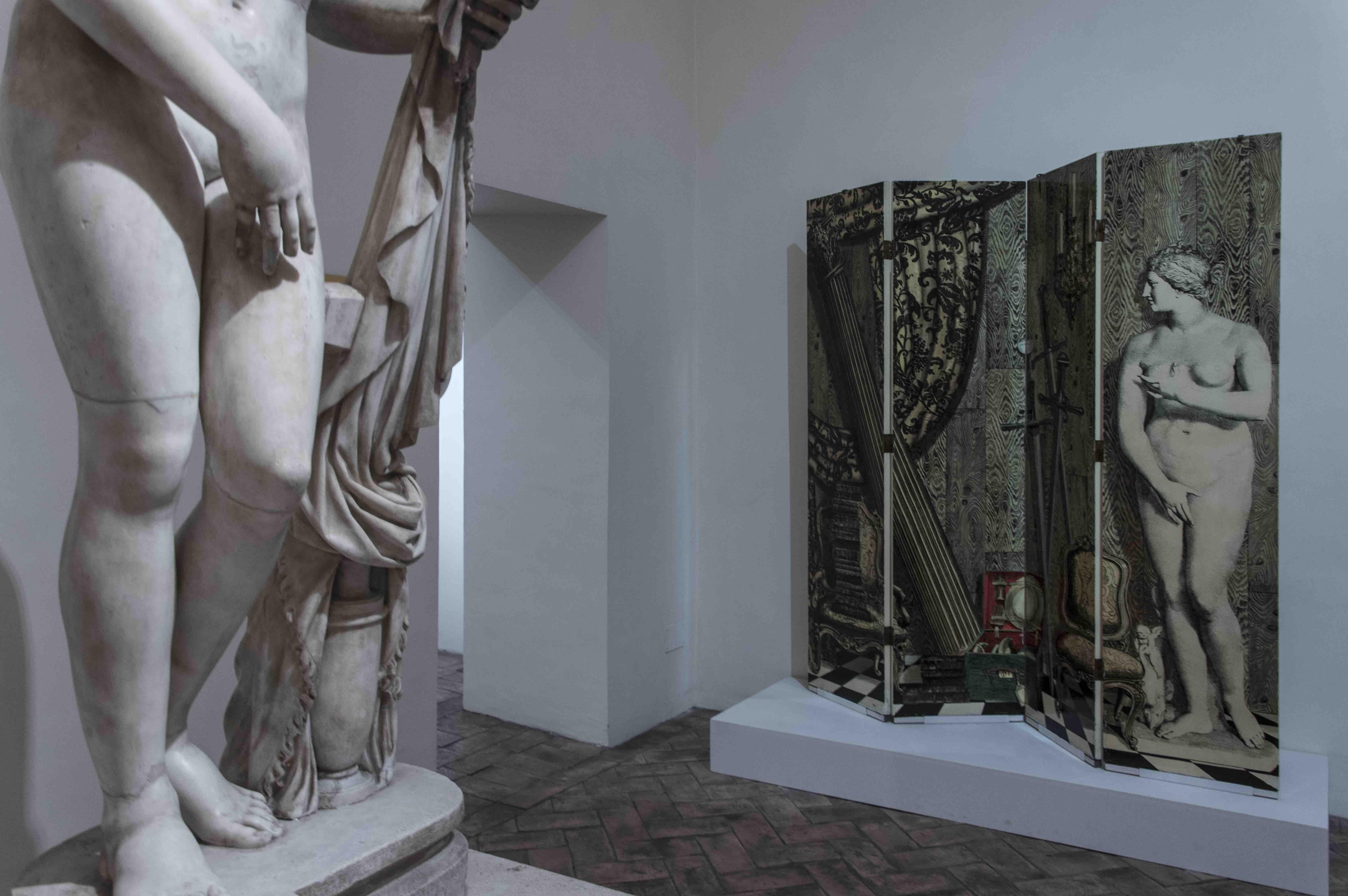 Fornasetti a Palazzo Altemps, Roma, Museo Nazionale Romano, Citazioni Pratiche