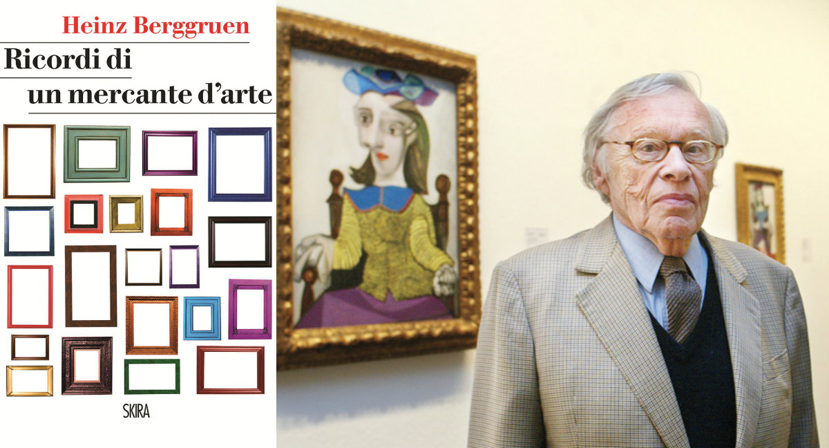 Ricordi di un mercante d'arte, Skira, Heinz Berggruen, kunst die und das leben, Picasso, Frida Kahlo, Berggruen
