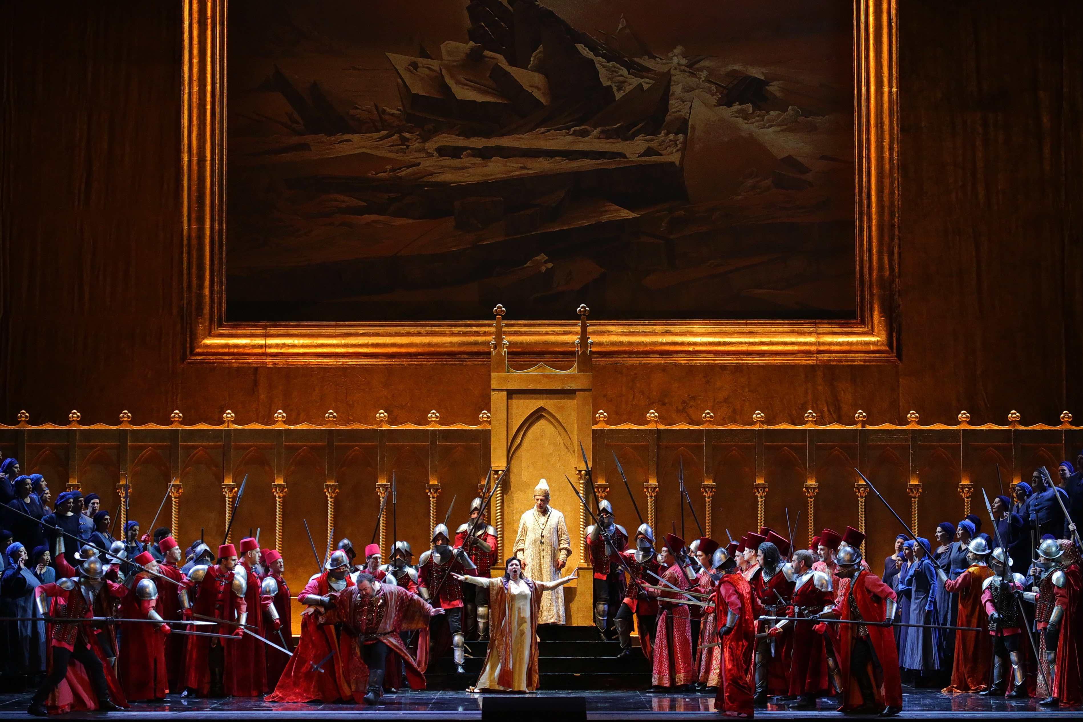 Simon Boccanegra, Teatro alla Scala, Federico Tiezzi, Giuseppe Verdi, Marco Brescia, Rudy Amisano, Myung-Whun Chung, Leo Nucci