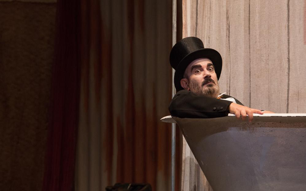 Teatro Elfo Puccini, Milano, Bertold Brecht, Mr Pùntila e il suo servo Matti, Ferdinando Bruni, Bruni/Frongia