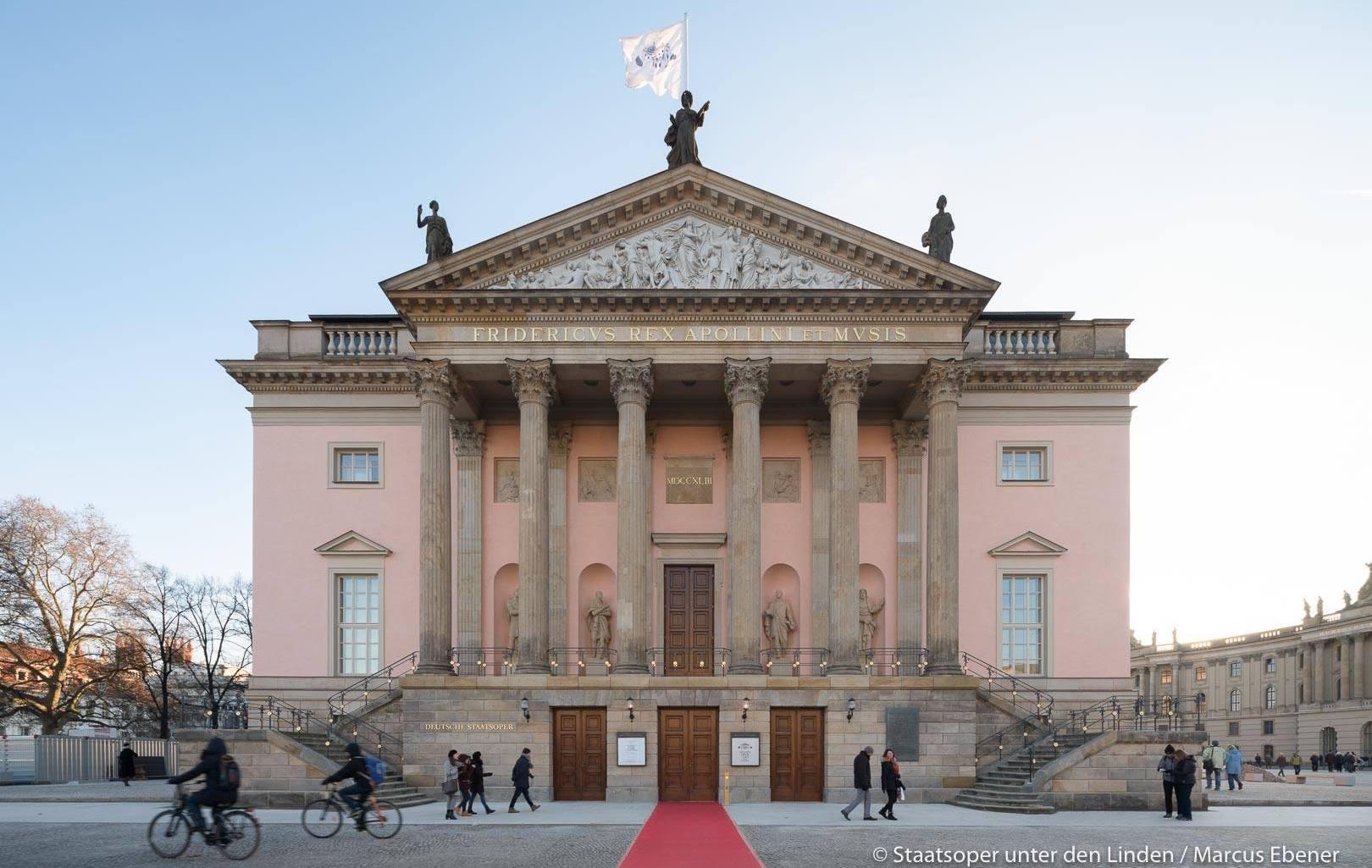 Staatsoper unter den linden, Berlin, Berlino Opera di Stato, Staatsoper