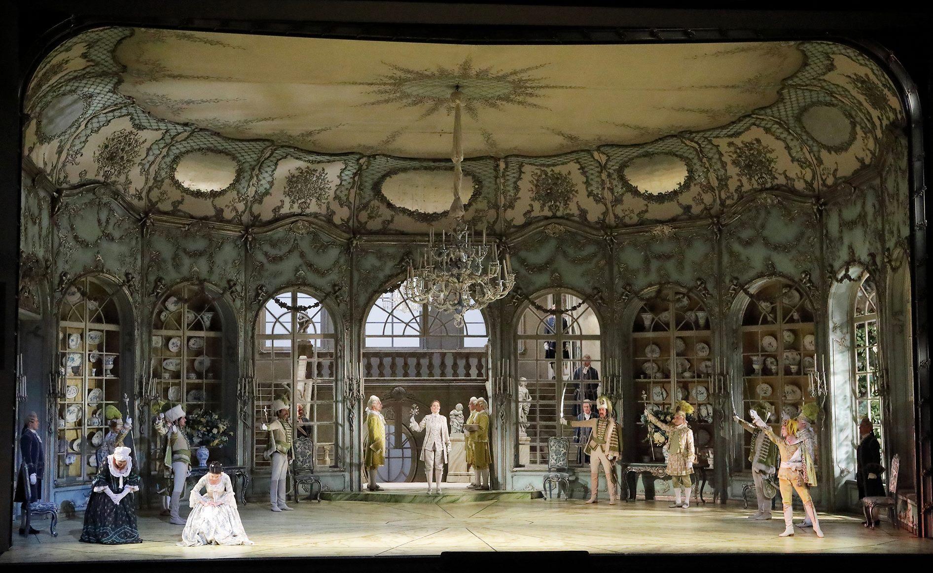 Der Rosenkavalier, Richard Strauss, Hugo von Hofmannsthal, Otto Schenk, Kirill Petrenko,BAYERISCHE STAATSOPER, Wilfried Hösl