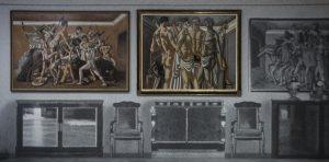 Fondazione Prada, Post Zang Tumb Tuuum, Germano Celant, Milano, De Chirico, Giorgio de Chirico, Scuola dei gladiatori
