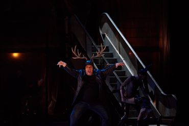 Falstaff, Verdi, Staatsoper Berlino, Michael Volle, Barbara Frittoli, Nadine Sierra, Daniela Barcellona, Berlino, Mario Martone, Daniel Barenboim