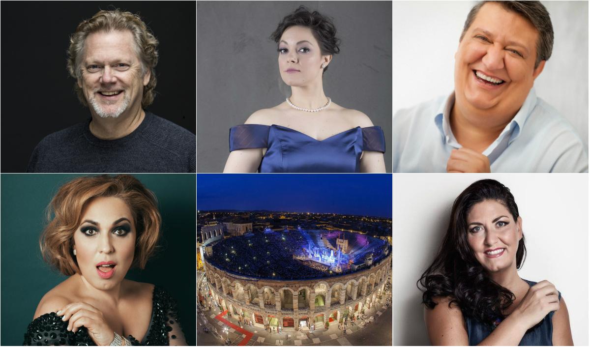 Arena di Verona, Festival lirico 2018, Arena 2018, Gregory Kunde, Ambrogio Maestri, Maria José Siri, Anna Pirozzi, Eleonora Buratto, Verona, Opera