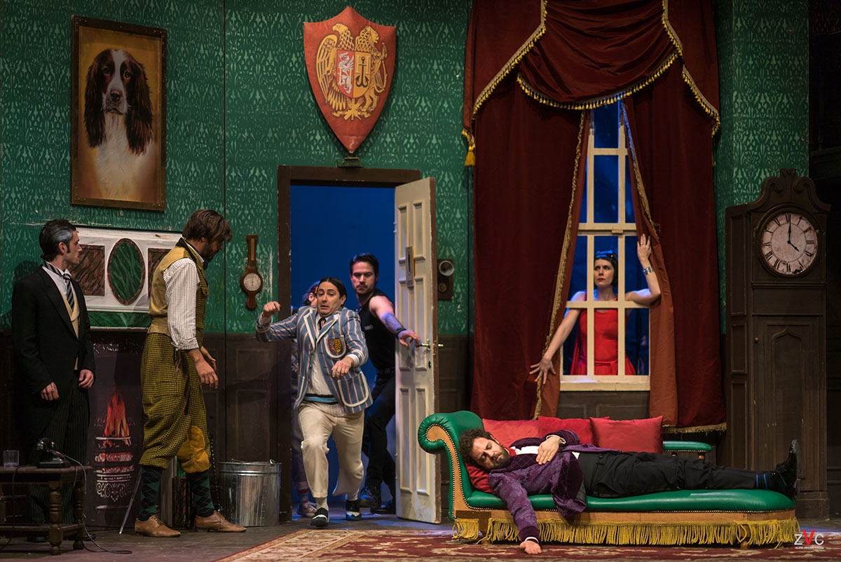 Teatro Carano, Milano, Che Disastro di Commedia, The play That goes Wrong, Gabriele Pignotta