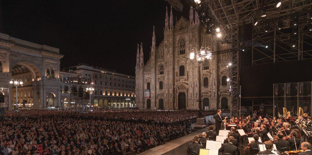 hanninen, Open Filarmonica, Concerto per Milano, Filarmonica della Scala, Milano, Piazza Duomo, Riccardo Chailly Denis Matsuev, Open Filarmonica 2018