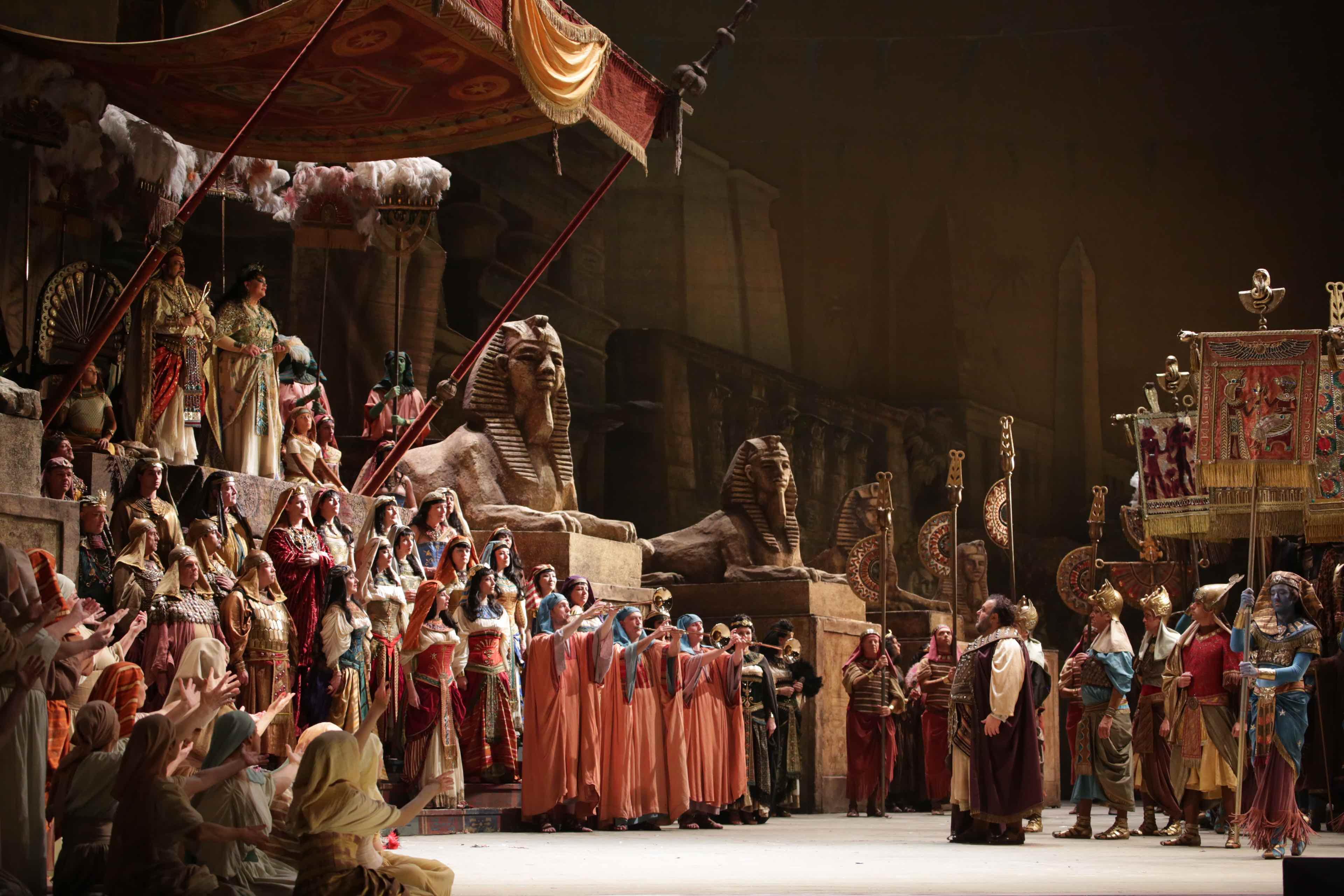 Teatro alla Scala, Milano, Aida, Zeffirelli, Giuseppe Verdi, Lila de Nobili, Daniel Oren, Krassimira Stoyanova, Fabio Sartori, Storica Aida