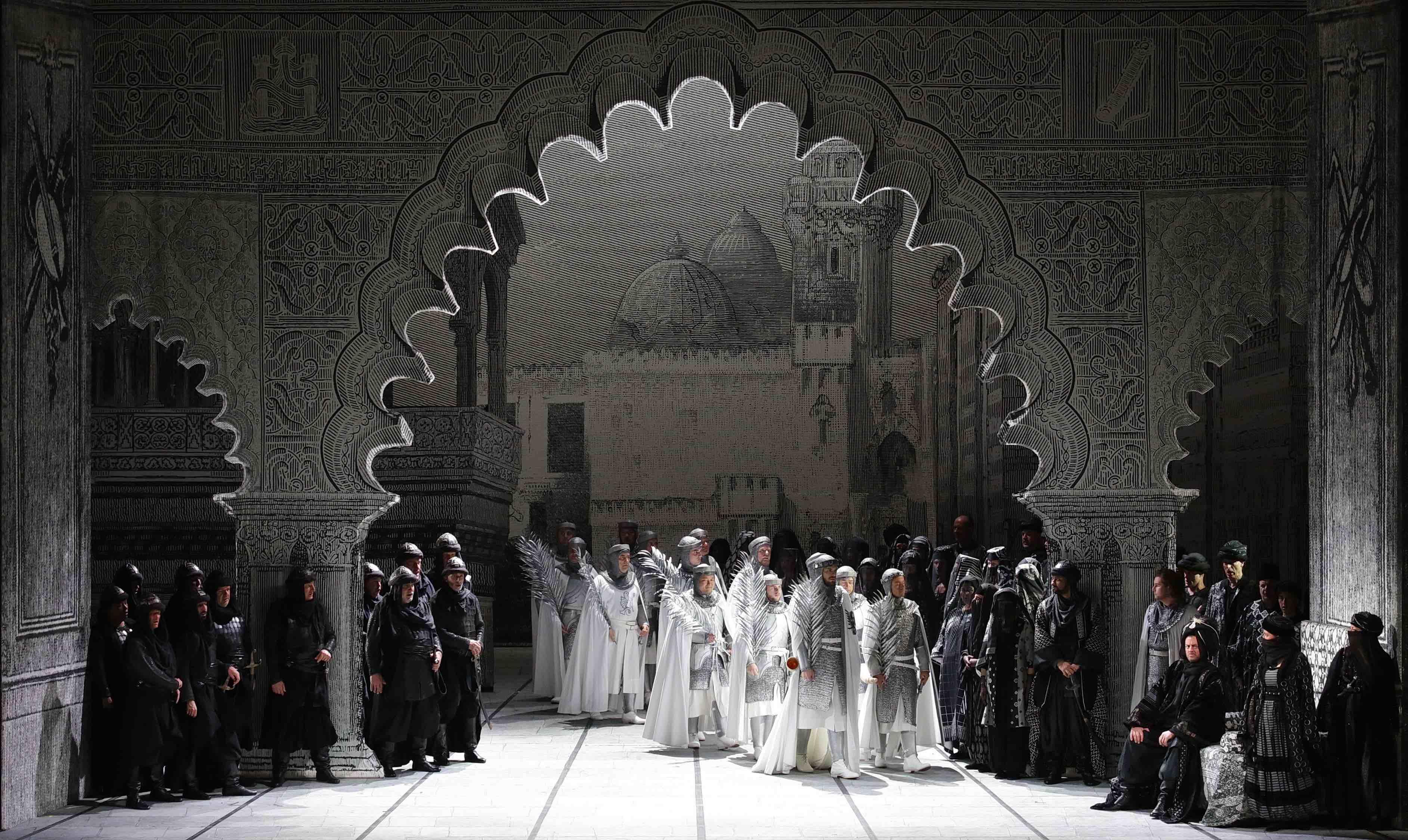 Fierrabras, Franz Schubert, Teatro alla Scala, Daniel Harding, Milano, Peter Stein