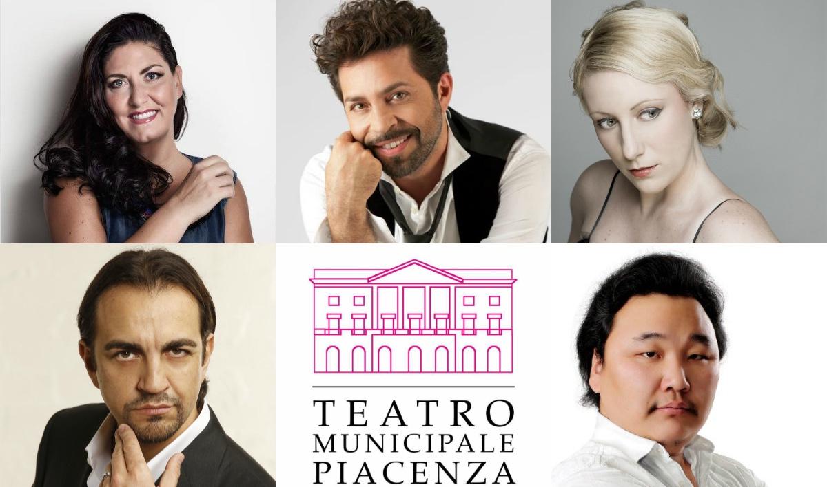 Teatro Municipale di Piacenza, Stagione 18/19, Anna Pirozzi, Paolo Bordogna, Saioa Hernandez, Claudio Sgura, Amartuvshin Enkhbat, Piacenza