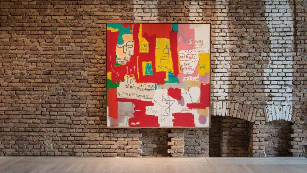 Jean-Michel Basquiat, Dos cabezas II, Herrenchiemsee, Königsklasse