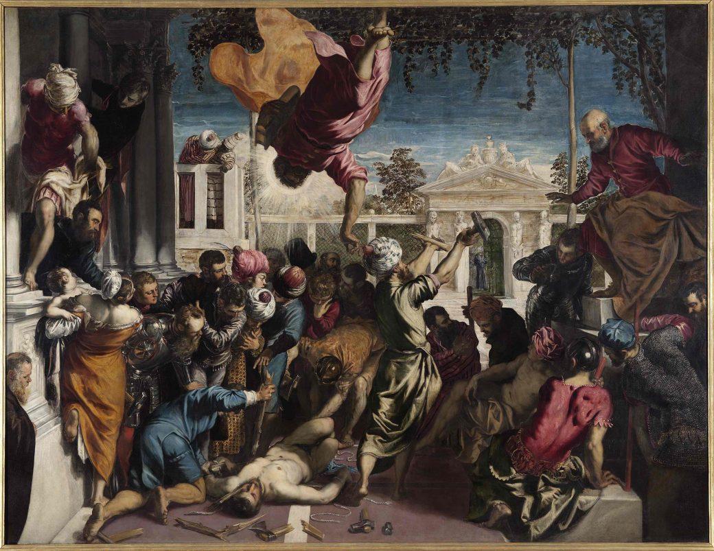Jacopo Robusti, Tintoretto, Venezia, Tintoretto 500, Gallerie dell'Accademia, Miracolo dello Schiavo, Giovane Tintoretto, mostra, Tintoretto Venezia