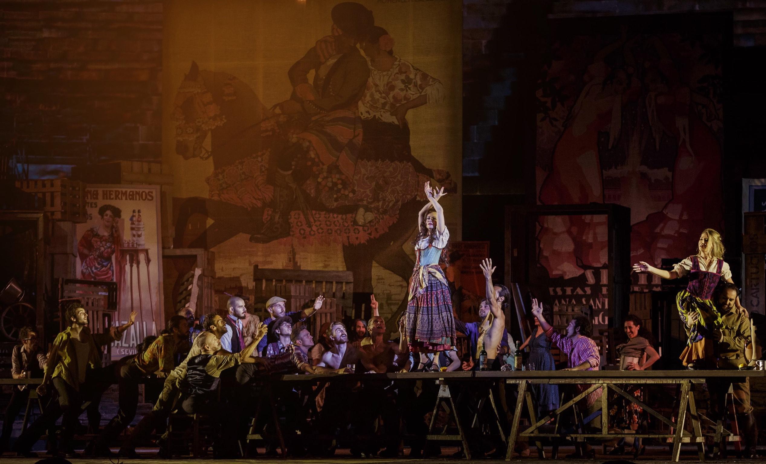 Carmen, Hugo de Ana, Georges Bizet, Arena di Verona, Carmen Arena, FottoEnnevi, Francesco Meli, Serena Gamberoni