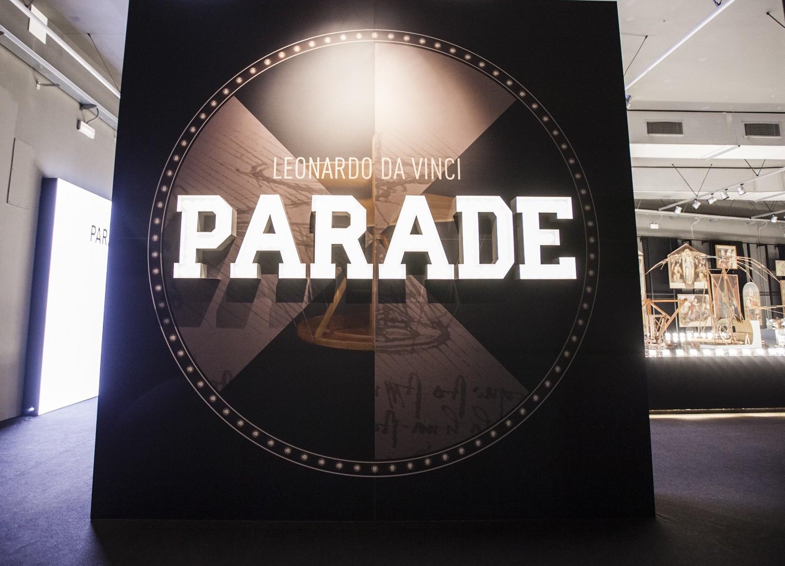 Leonardo Parade, Museo della Scienza e della Tecnologia, Leonardo da Vinci Parade, Leonardo da Vinci, Milano
