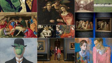 Mostre EU autunno 2018, Cubismo, Rinascimento, Magritte, Lorenzo Lotto, Wes Anderson, Ghirri, Picasso, Mantegna e Bellini, Londra, Vienna, Parigi, Lugano, LAC