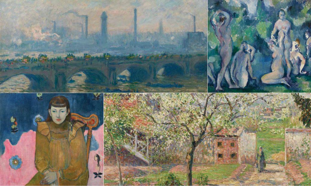 Cézanne, Degas, Gauguin, Manet, Monet, Berthe Morisot, Renoir, Matisse sono proposti in Gauguin e gli Impressionisti. Capolavori dalla Collezione Ordrupgaard, Palazzo Zabarella, Ordrupgaard