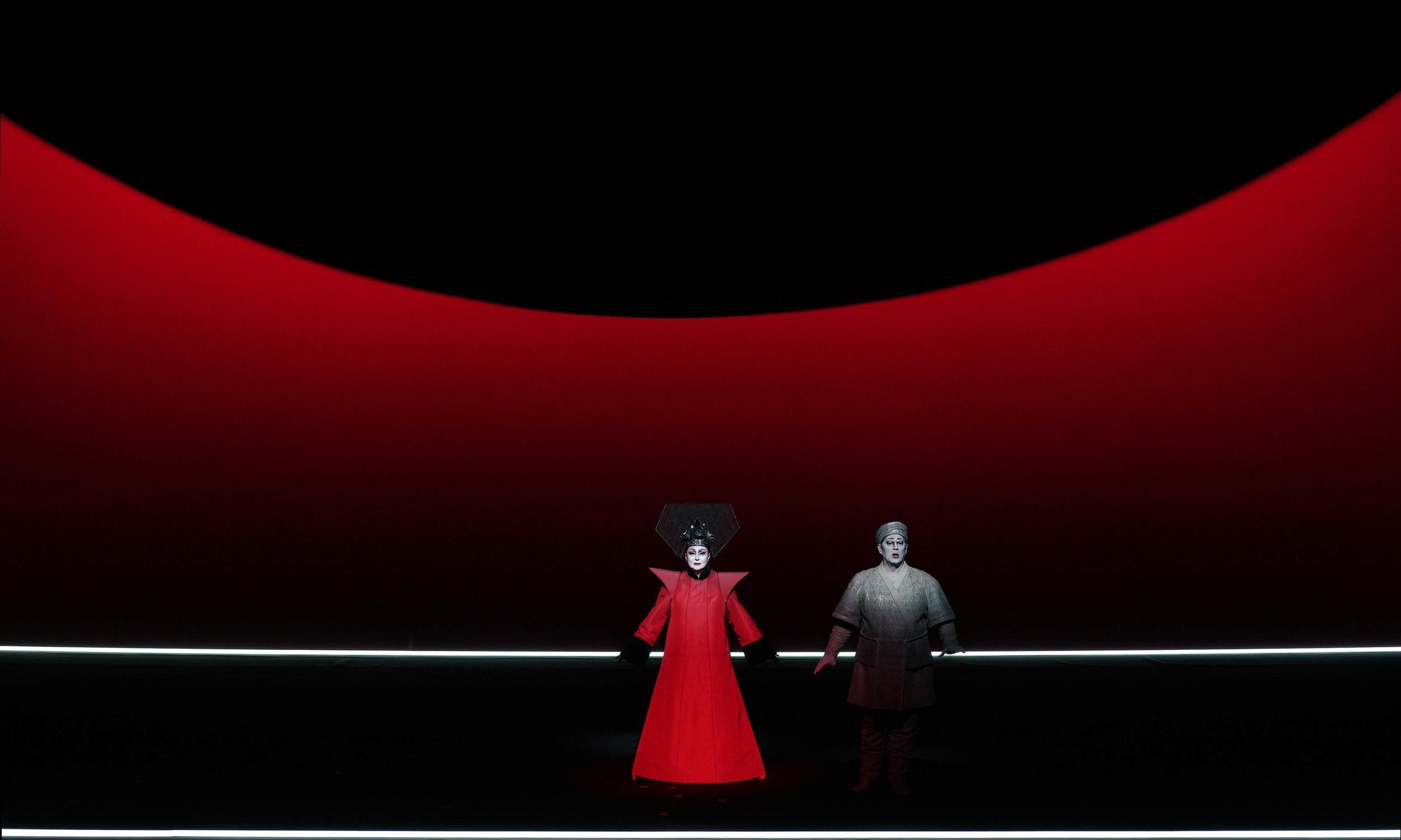 Turandot, Teatro Real, Madrid, TRTurandot, Madrid, Puccini, Bob Wilson, Robert Wilson; TurandoTR