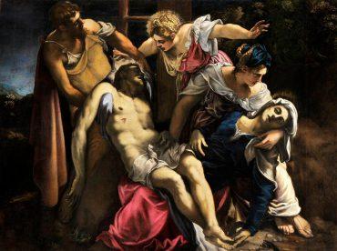 Tintoretto Palazzo Ducale Venezia, Tintoretto Palazzo Ducale, Venezia, Jacopo Robusti, Deposizione dalla Croce