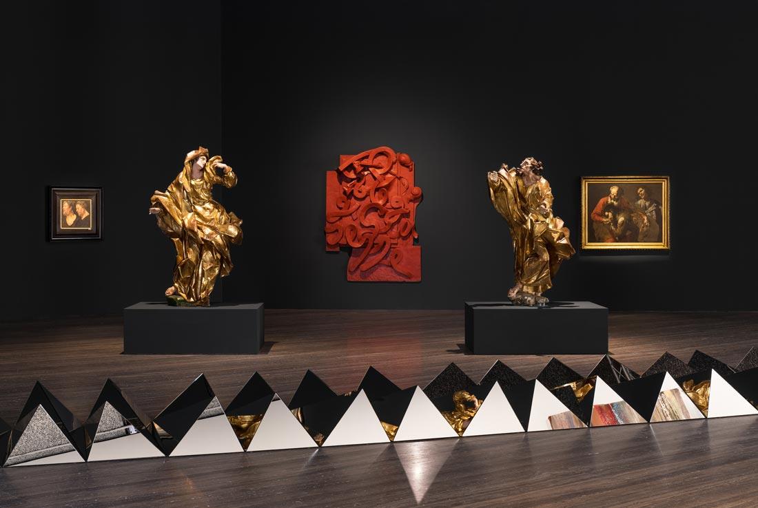 Sanguine Luc Tuynabs on Baroque; Barocco; Fondazione Prada; Milano
