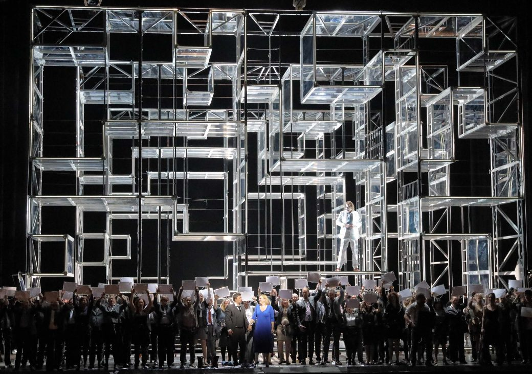 Fidelio; Bayerische Staatsoper; Fidelio, Beethoven, Calixto Bieito, Anja Kampe; Jonas Kaufmann, Kirill Petrenko, Monaco di Baviera