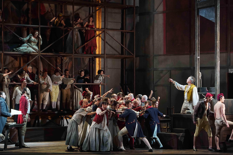 Andrea Chénier; Teatro Municipale di Piacenza; Nicola Berloffa; Saioa Hernández; Martin Muehle; Claudio Sgura; Umberto Giordano