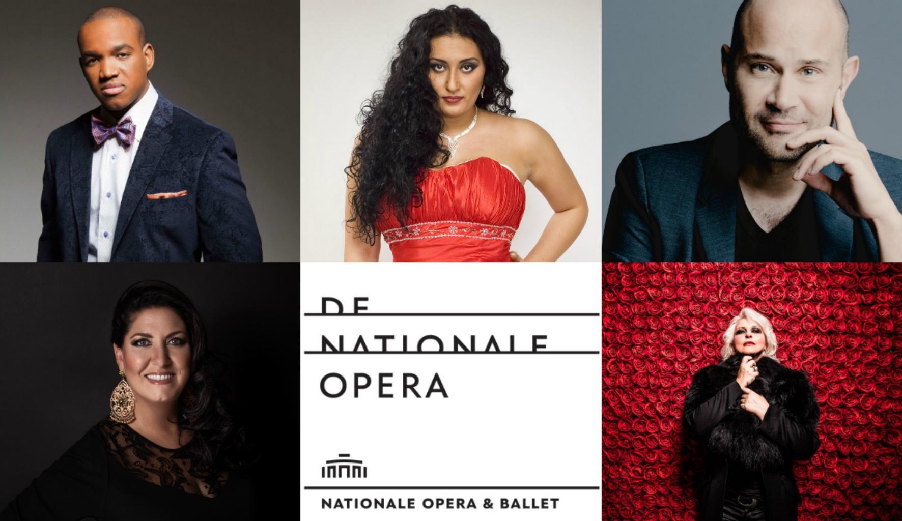 De Nationale Opera Amsterdam 19/20; Anna Pirozzi, Anita Rachvelishvili; Lawrence Brownlee; Bejun Mehta; Irene Théorin; Eleonora Buratto