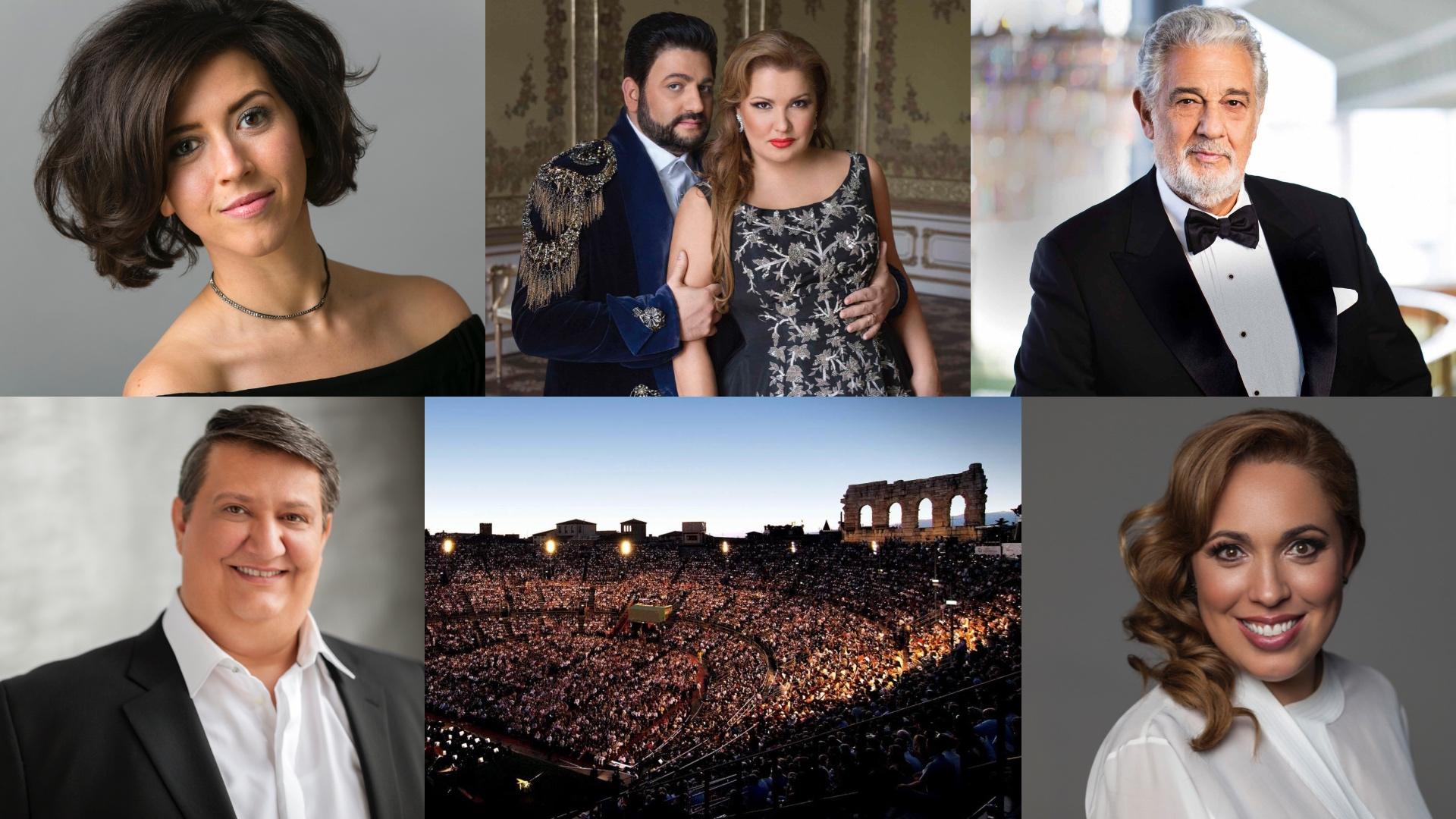Arena Opera Festival 2019; Arena di Verona Opera Festival 2019; Verona; Anna Netrebko; Yusif Eyvazov; Placido Domingo; Lisette Oropesa; Ambrogio Maestri; Maria José Siri