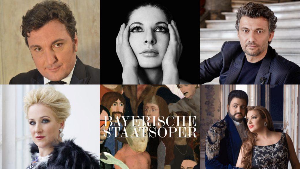 Marina Abramovic; Maria Callas, Diana Damrau; Anna Netrebko; Yusif Eyvazov; Jonas Kaufmann; Ludovic Tezier; BOS1920; Bayerische Staatsoper; Monaco di Baviera