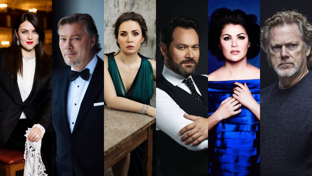 Pasqua; Venera Gimadieva: René Pape; Sonya Yoncheva; Idar Abdrazakov; Anna Netrebko; Gregory Kunde; Salzburg; Baden Baden; Berlin; Hamburg