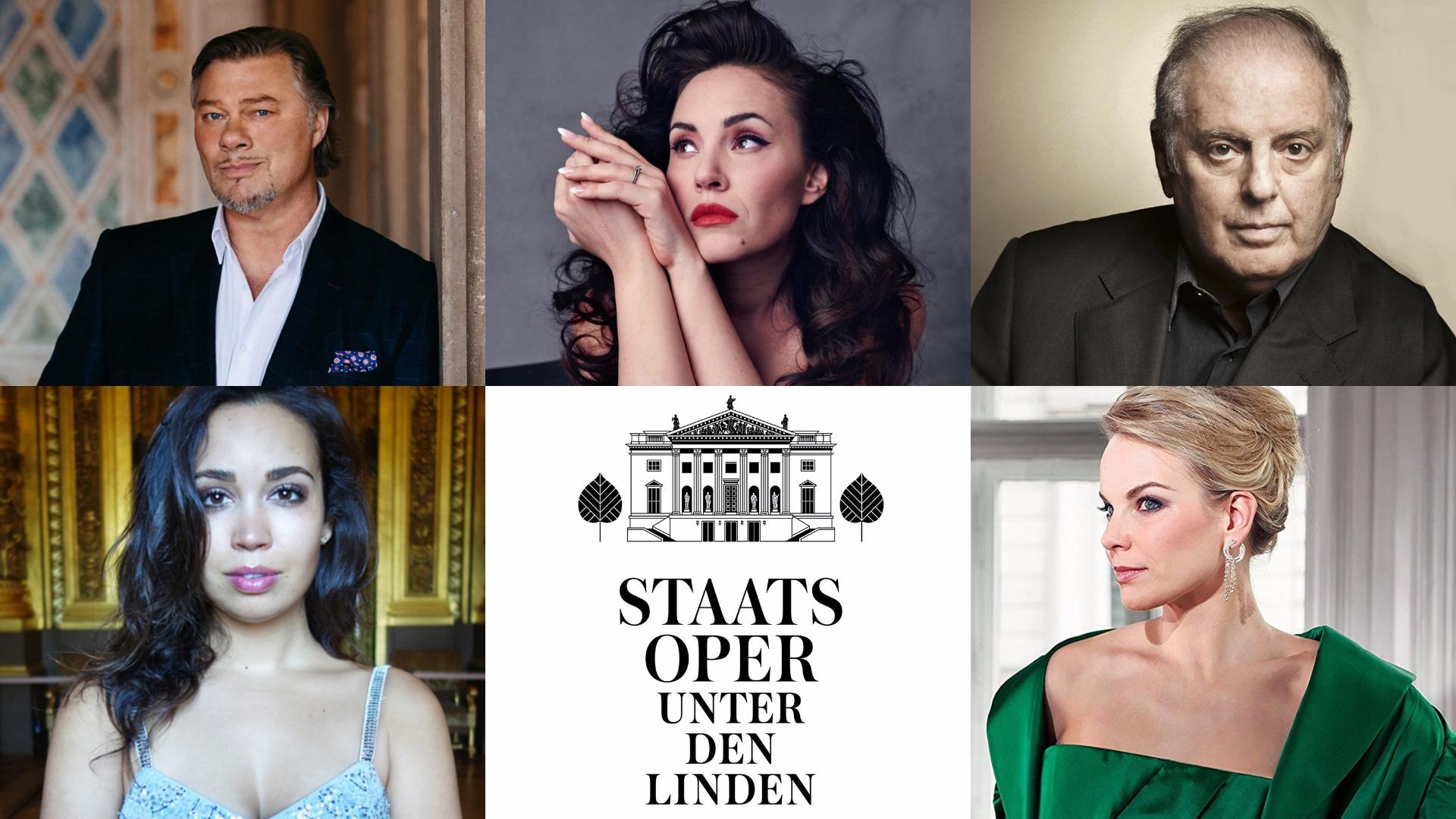 Daniel Barenboim; René Pape; Sonya Yoncheva; Nadine Sierra Elina Garanca; Staatsoper Berlin; Berlino; Staatsoper Unter den Linden; StaatsoperBLN1920
