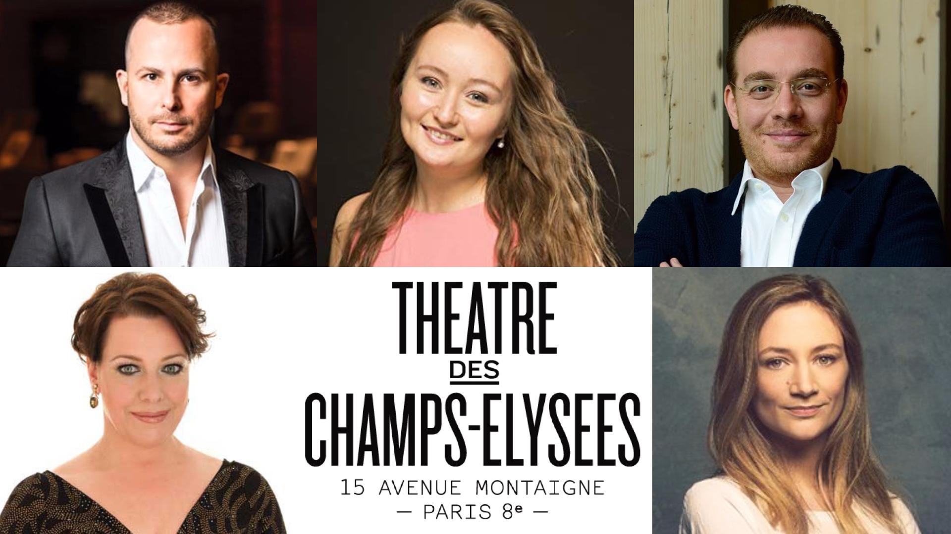 Théâtre des Champs-Élysées; Parigi; Paris TCE1920