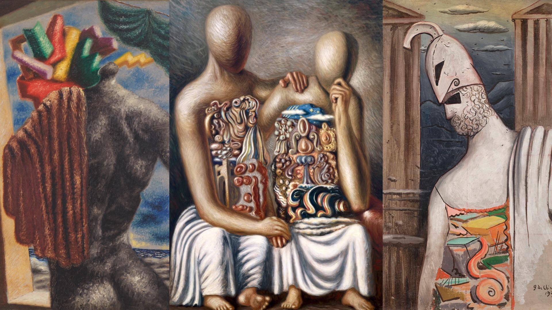 Magnani Rocca, Alberto Savinio, Giorgio de Chirico, Savinio & de Chirico; Parma; metafisica, Una mitologia moderna