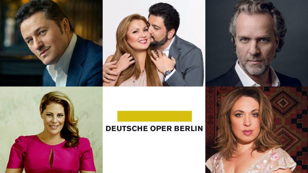 Deutsche Oper Berlin; Deutsche Oper 19/20; Berlino; Berlin; opera; Anna Netrebko; Yusif Eyvazov; Maria José Siri; Martin Muehle; Piotr Beczala; Sondra Radvanovsky