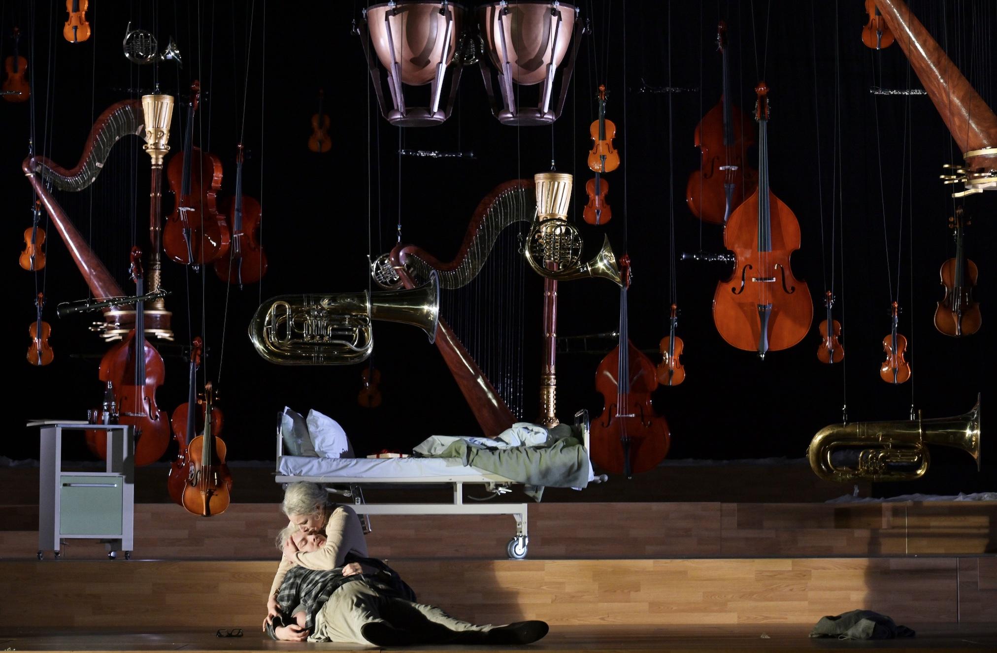 Der ferne Klang, Damiano Michieletto; Paolo Fantin; Oper Frankfurt; Opera; Franz Schreker; Jennifer Holloway; Ian Koziara