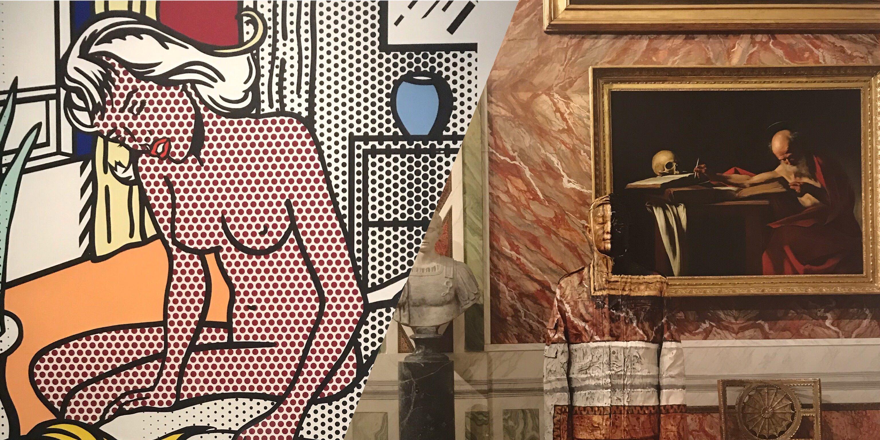 Mudec di Milano - Lichtenstein e Liu Bolin