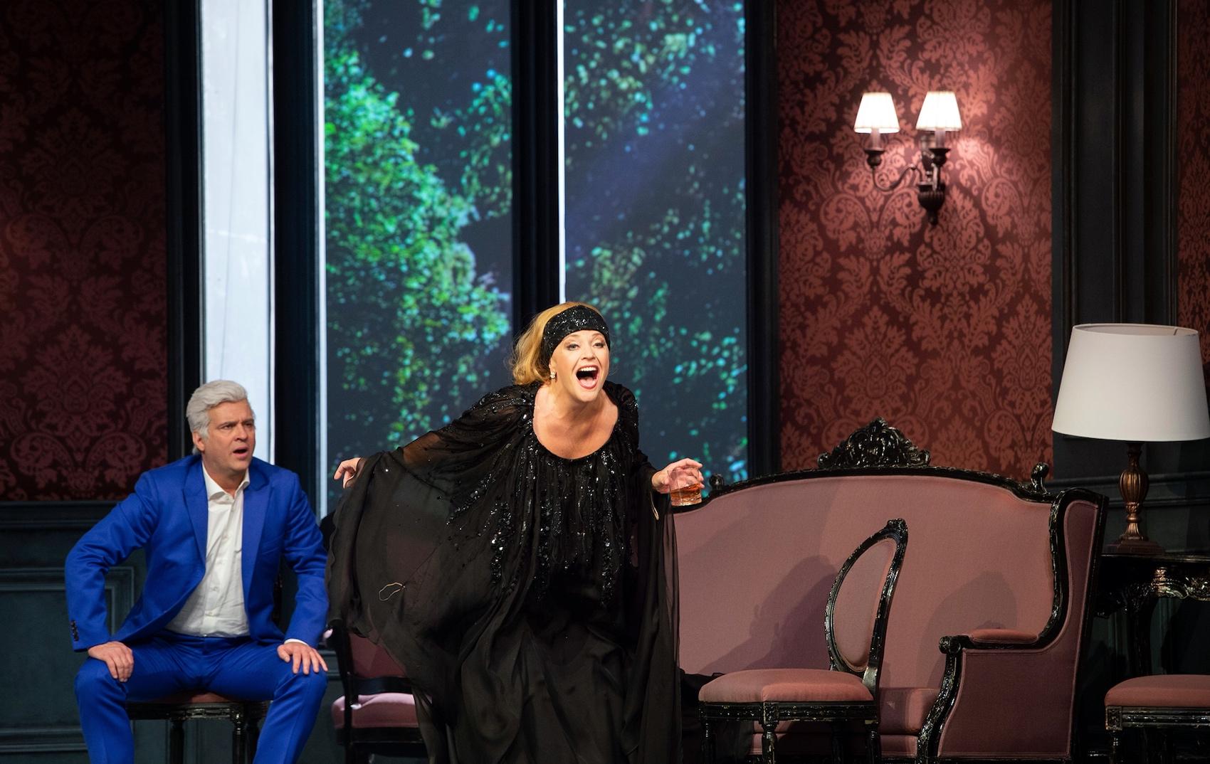 l'Affare Makropulos all'Opernhaus di Zurigo