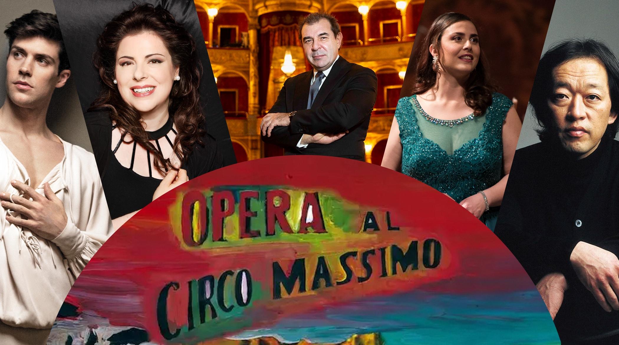 Circo Massimo 2021; Opera Roma;