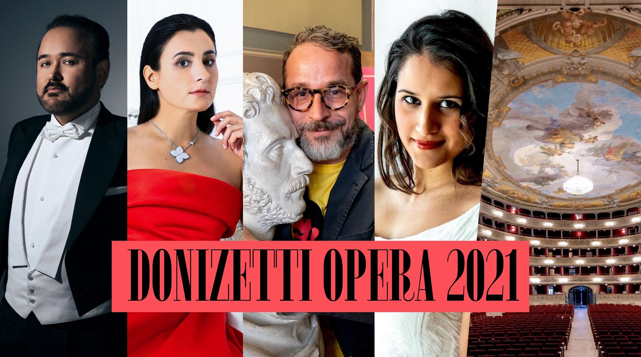 Donizetti Opera 21; DonizettiOpera21; Bergamo; Javier Camarena; Carmela Remigio; Francesco Micheli; Sara Blanch