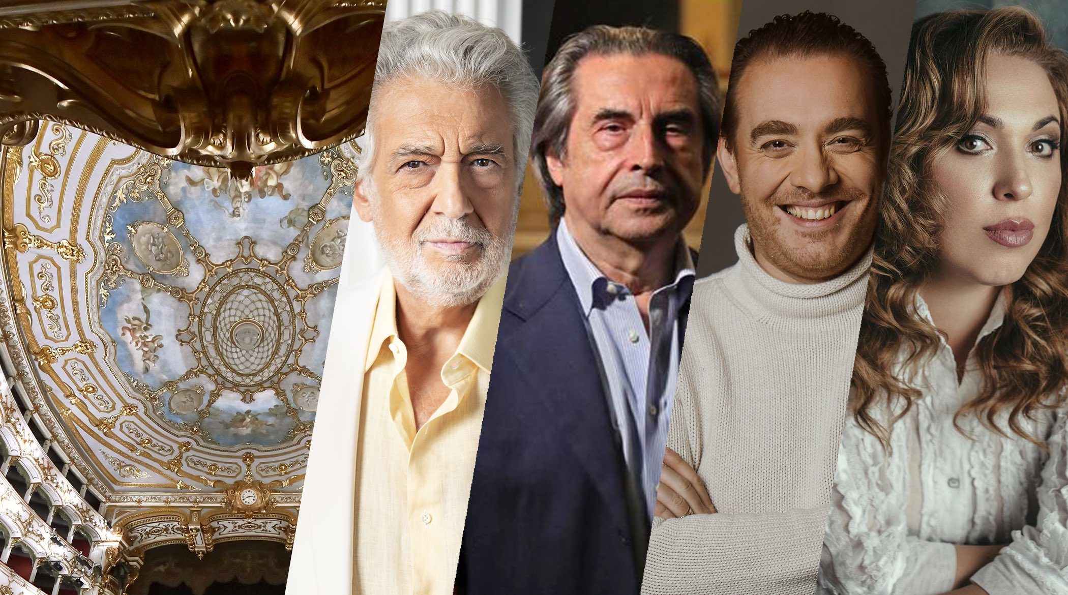 Piacenza 2021; Teatro Municipale Piacenza; Placido Domingo; Francesco Meli, Riccardo Muti; Luca Salsi; Maria José Siri