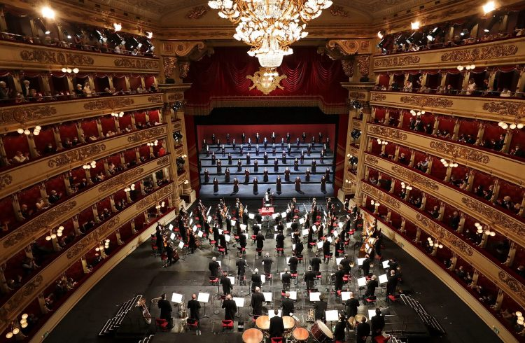 Riapertura Teatro alla Scala; Riapertura Scala; Riccardo Chailly; Lise Davidsen